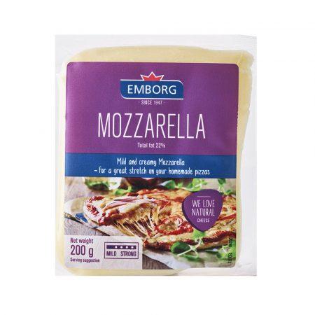 Emborg White Mozzarella Portions