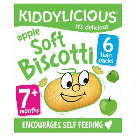 Kiddylicious Soft Biscotti Apple
