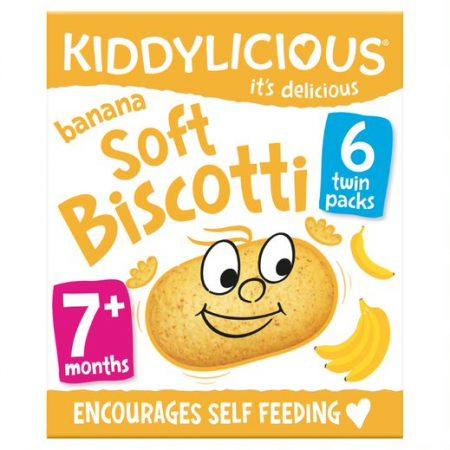 Kiddylicious Soft Biscotti Banana