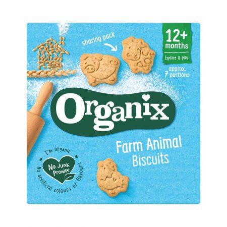 Organix Farm Animal Toddler Snack Biscuits 12 Months+ 100g