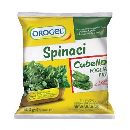 Orogel Spinach Portions Foglia Piu
