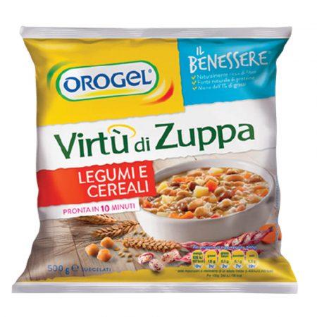 Orogel Virtu di Zuppa with Pulses & Cereals (Legume e Cereali)