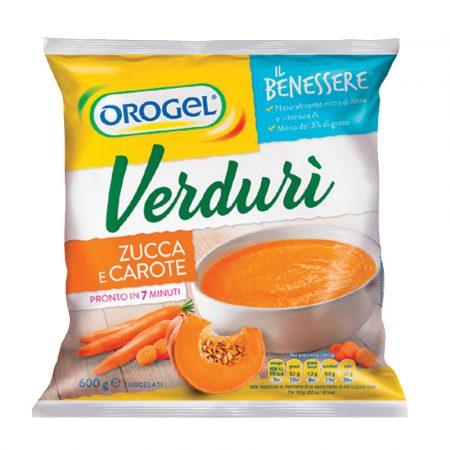 Orogel Pumpkin & Carrot Soup (Zucca e Carote)