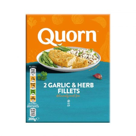Try Quorn Garlic & Herb Fillets