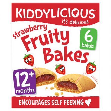 Kiddylicious Strawberry Fruity Bakes