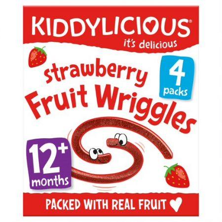 Kiddylicious Strawberry Wriggles MP