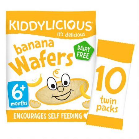 Kiddylicious Wafer Banana Maxi