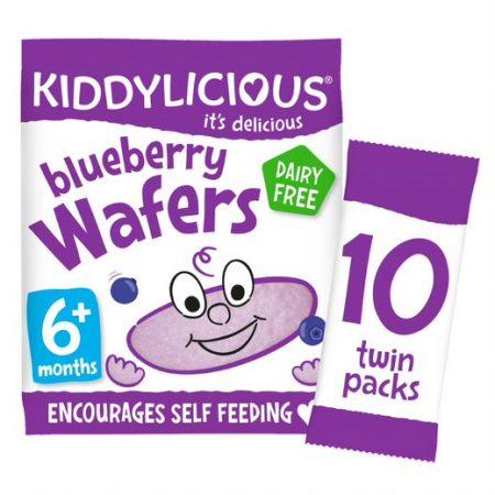Kiddylicious Wafer Blueberry Maxi