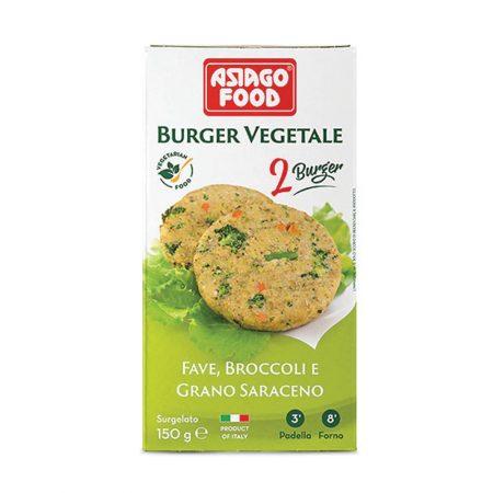 Asiago Veggie Burgers- Broad Bean, Broccoli and Buckwheat (Vegan)