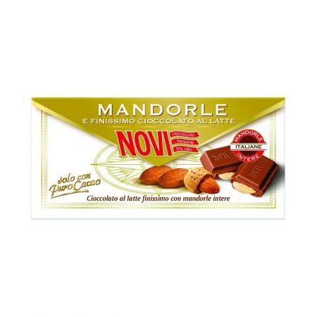 Novi Milk Chocolate with Almonds
