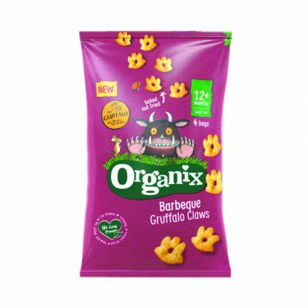 Organix BBQ Organic Gruffalo Claws MP x 4 Bags 12months+
