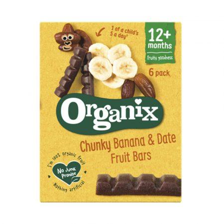 Organix Chunky Banana and Date Fruit Bars