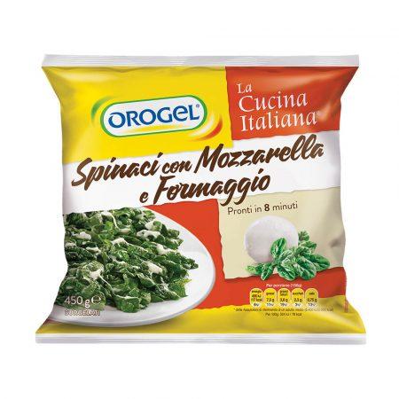 Orogel Spinach and Mozzarella (Spinaci con Mozzarrella e Formaggio)