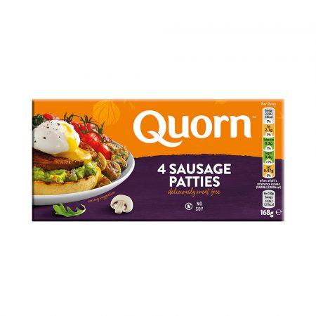 Quorn Sausage Patties (4 Patties)