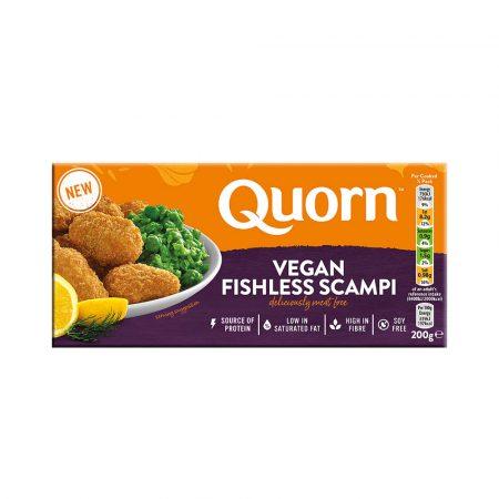 Quorn Vegan Fishless Scampi 200g