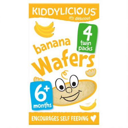 Kiddylicious Wafers Banana Mini (4x4g)