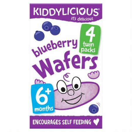 Kiddylicious Wafers Blueberry Mini (4x4g)