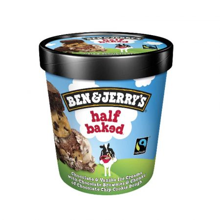 Ben and Jerry's Half Baked