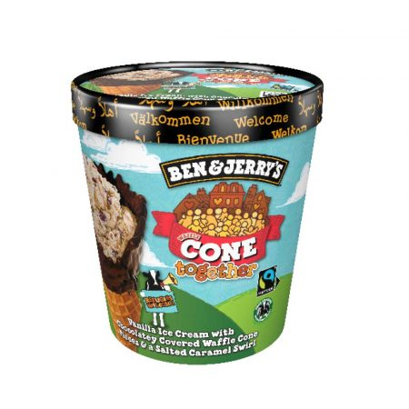 Ben and Jerry's Cone Together