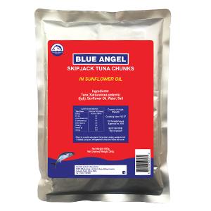 Blue Angel Skipjack in Sunflower Oil 650Grs