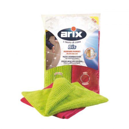 Arix Twin Set Coloured Microfibre Floor Cloth