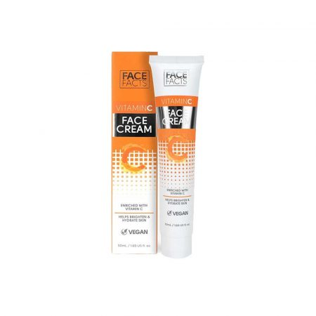 Face Facts Vitamin C Face Cream moisturises and refreshes skin