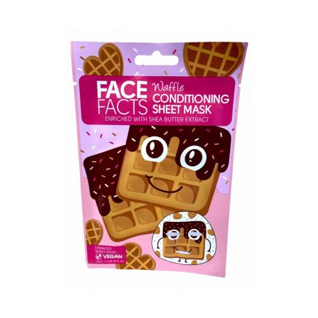 Face facts printed sheet mask