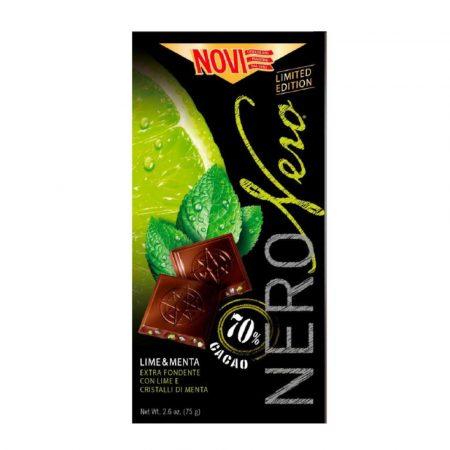Novi Nero Nero Lime and Mint