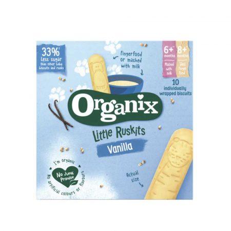 Organix Toddler 6M+ Ruskits Vanilla 60g