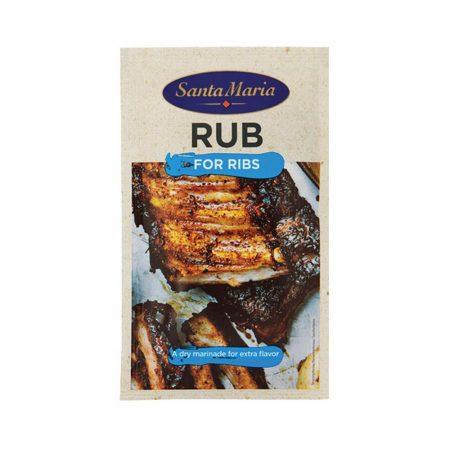 Santa Maria BBQ Rub Ribs 30grs