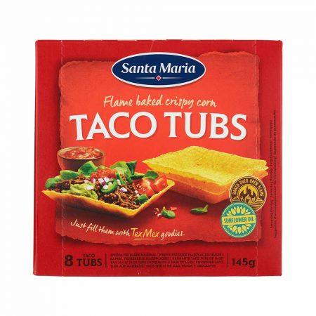 Santa Maria Taco Tubs x145g