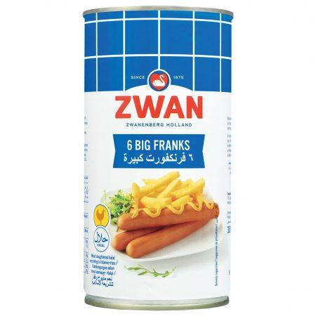 Zwan Chicken Big Franks 200g
