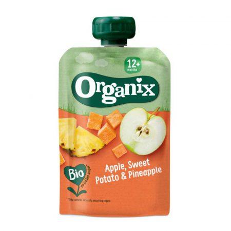 Organix Apple, Sweet Potato and Pineapple 12M+