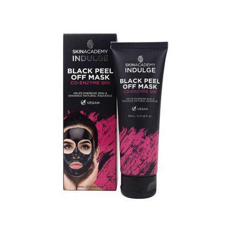 Skin Academy Black Peel Off Mask - Co-Enzyme Q10 12x80ml