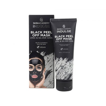 Skin Academy Black Peel Off Mask with Zinc & Silver Ions 12x80ml